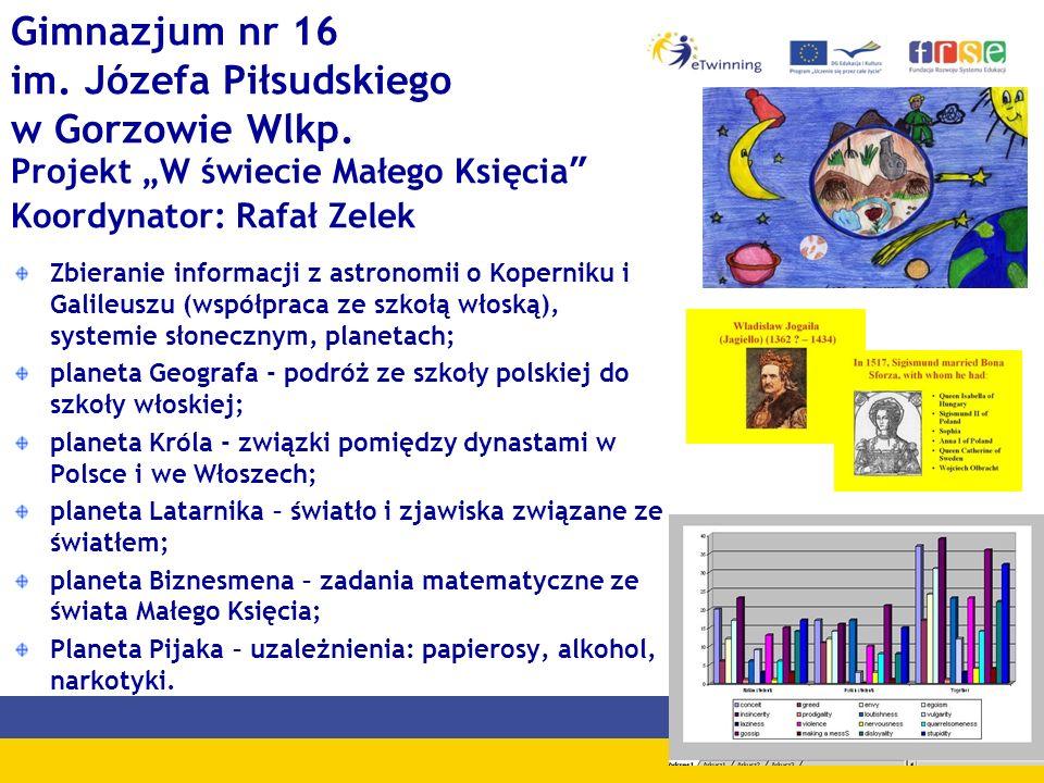 Gimnazjum nr 16 im. Józefa Piłsudskiego w Gorzowie Wlkp