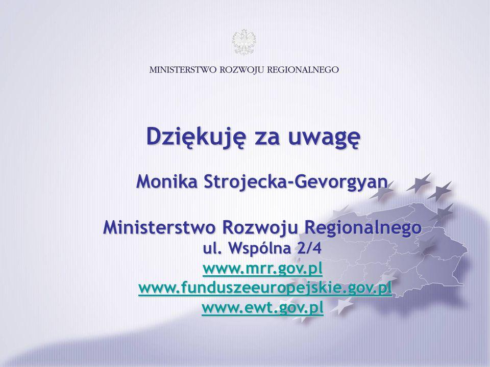 Dziękuję za uwagę Monika Strojecka-Gevorgyan