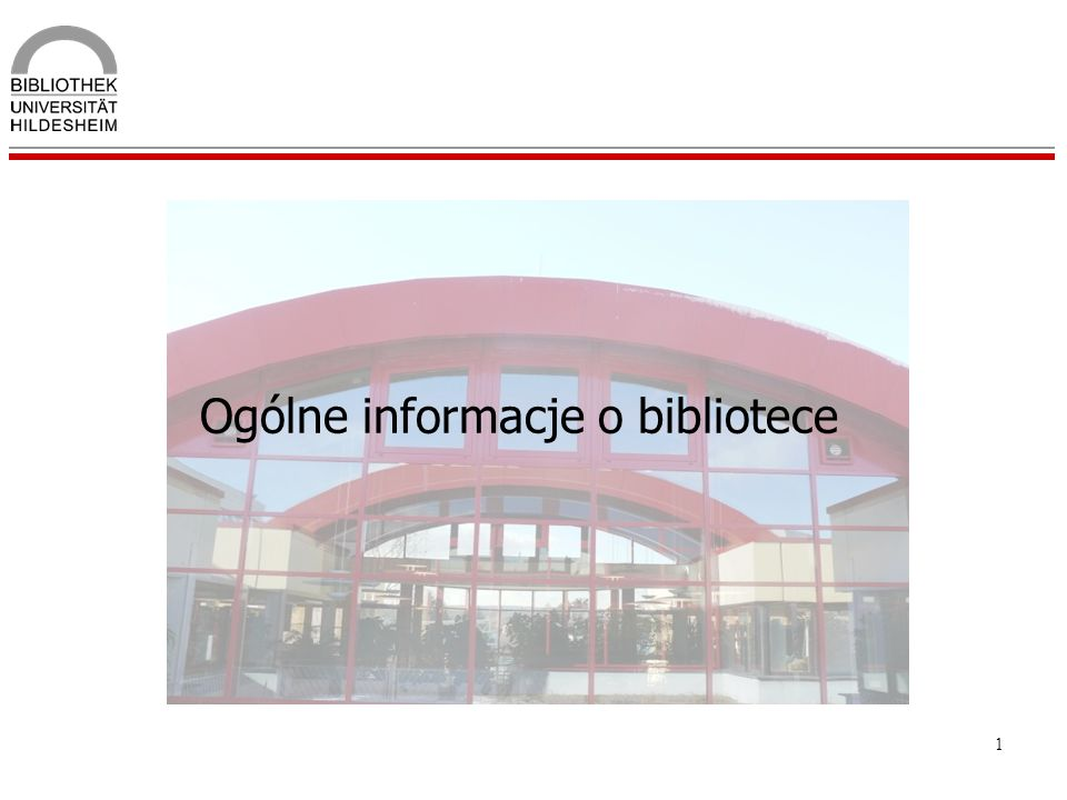Ogólne informacje o bibliotece