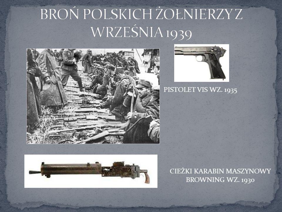 BROŃ POLSKICH ŻOŁNIERZY Z WRZEŚNIA 1939