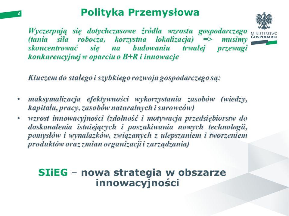 SIiEG – nowa strategia w obszarze innowacyjności