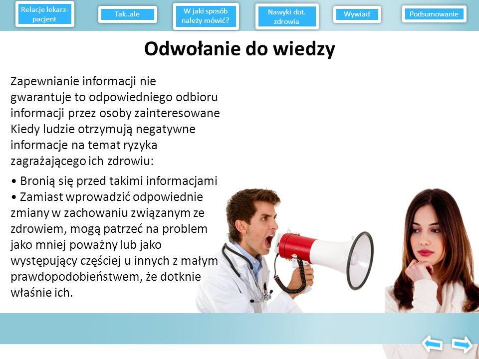 Relacje lekarz-pacjent