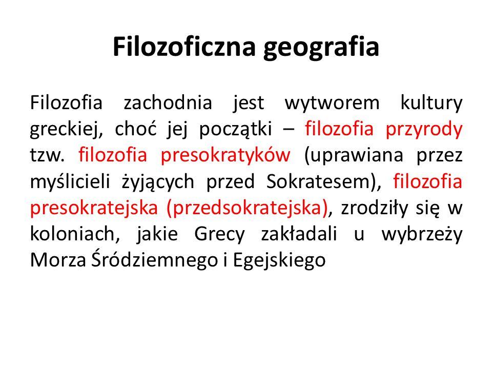 Filozoficzna geografia