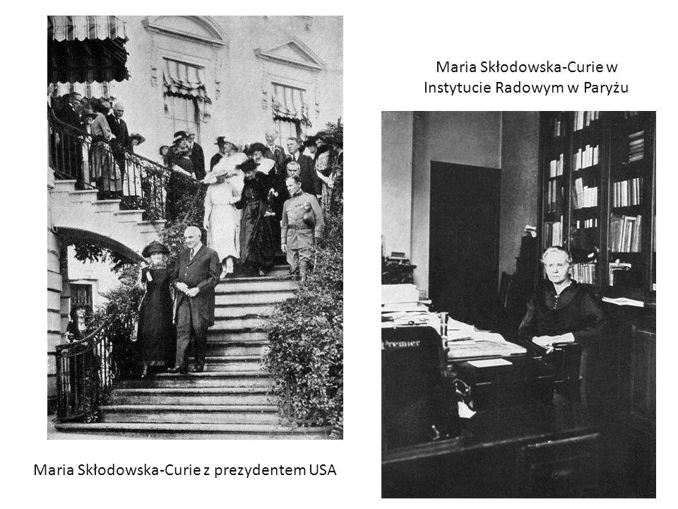 Maria Skłodowska-Curie w Instytucie Radowym w Paryżu