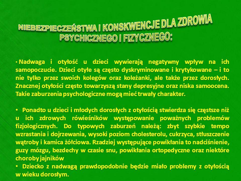 NIEBEZPIECZEŃSTWA I KONSKWENCJE DLA ZDROWIA PSYCHICZNEGO I FIZYCZNEGO: