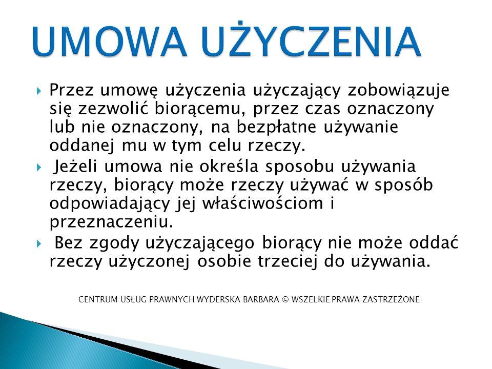 CENTRUM USŁUG PRAWNYCH WYDERSKA BARBARA © WSZELKIE PRAWA ZASTRZEŻONE