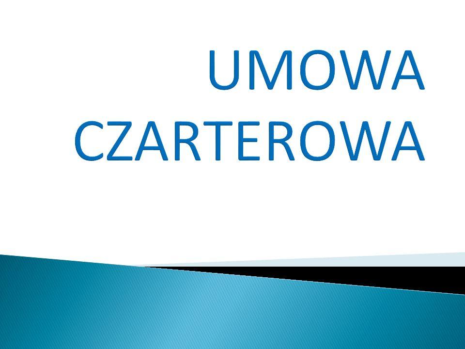 UMOWA CZARTEROWA
