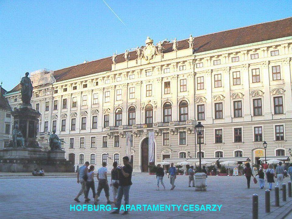 HOFBURG – APARTAMENTY CESARZY