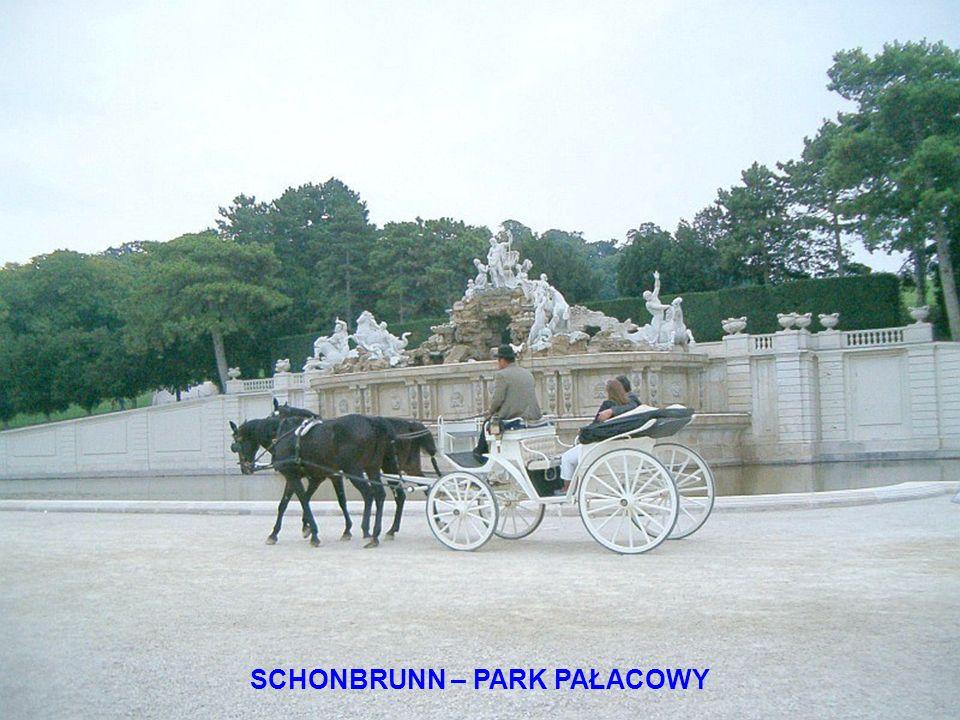 SCHONBRUNN – PARK PAŁACOWY
