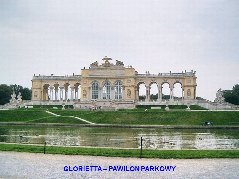 GLORIETTA – PAWILON PARKOWY