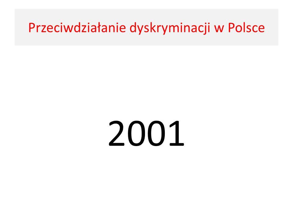 Przeciwdziałanie dyskryminacji w Polsce