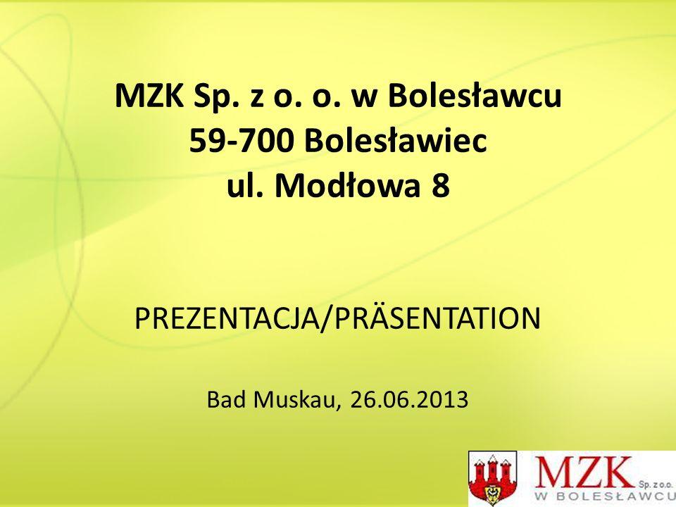 MZK Sp. z o. o. w Bolesławcu 59-700 Bolesławiec ul