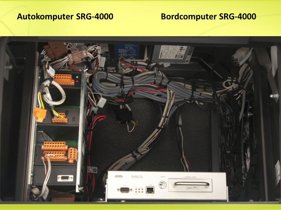 Autokomputer SRG-4000 Bordcomputer SRG-4000