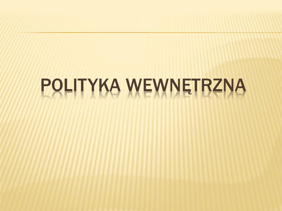 POLITYKA WEWNĘTRZNA