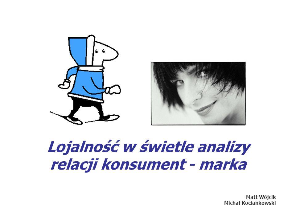 Lojalność w świetle analizy relacji konsument - marka