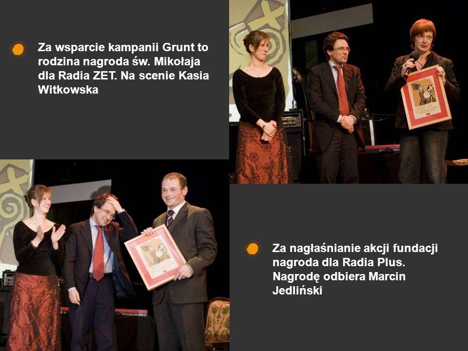 Za wsparcie kampanii Grunt to rodzina nagroda św