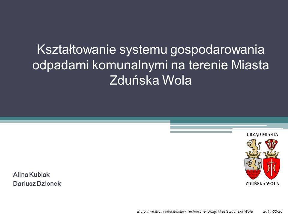 Alina Kubiak Dariusz Dzionek