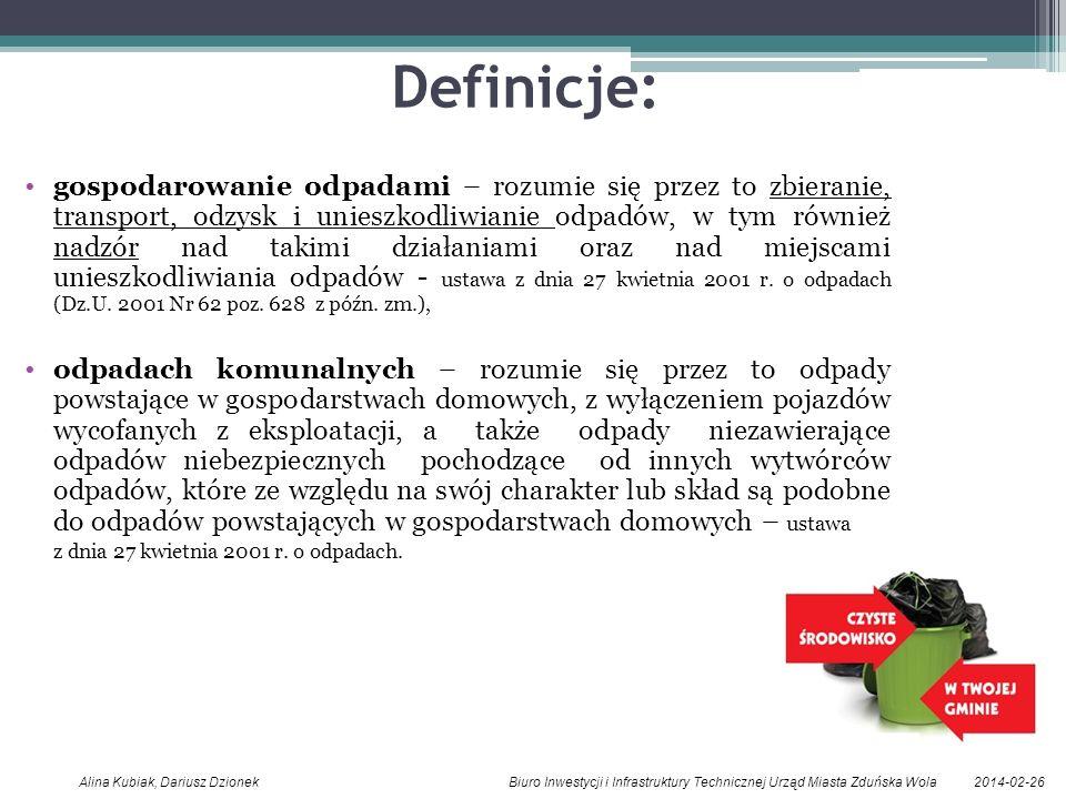 Definicje: