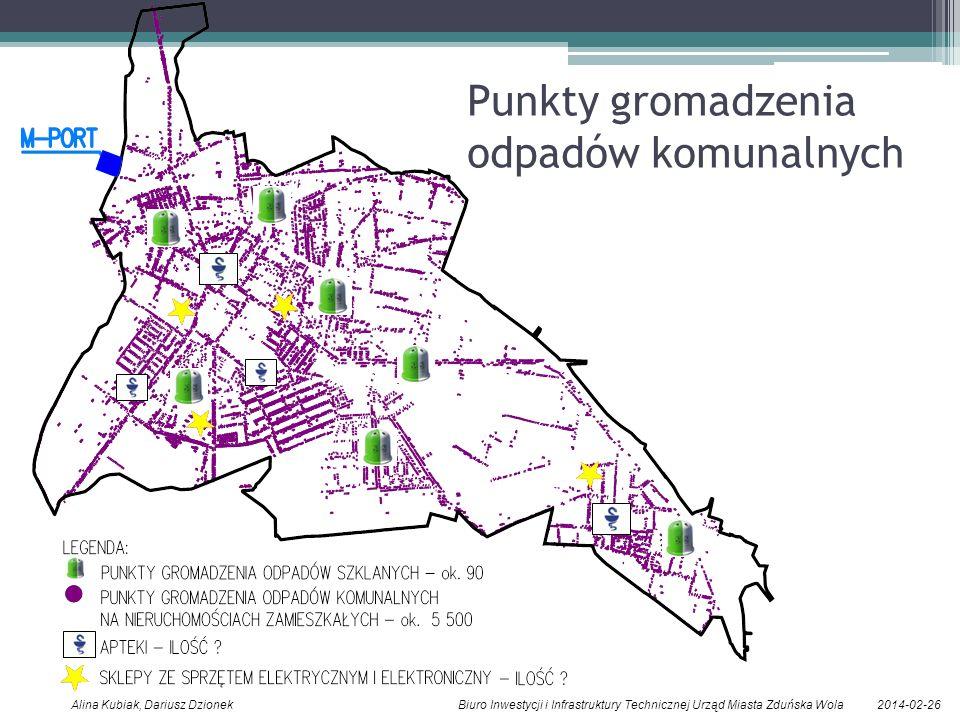 Punkty gromadzenia odpadów komunalnych