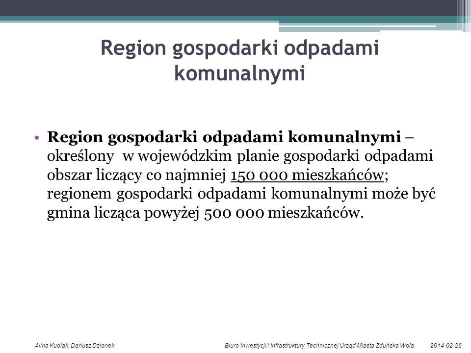 Region gospodarki odpadami komunalnymi