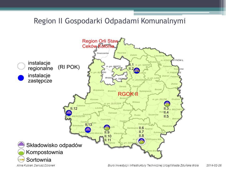 Region II Gospodarki Odpadami Komunalnymi