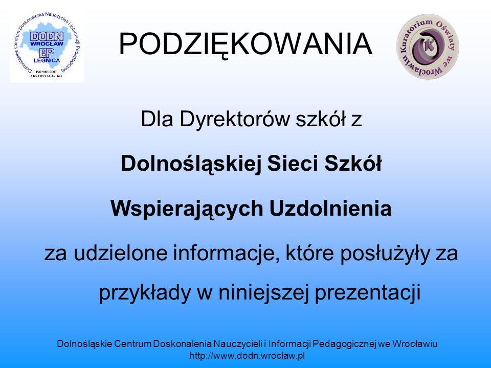 Dolnośląskiej Sieci Szkół