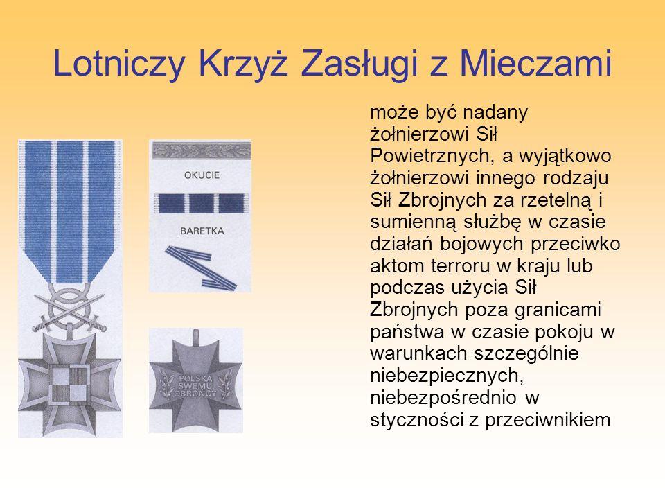 Lotniczy Krzyż Zasługi z Mieczami