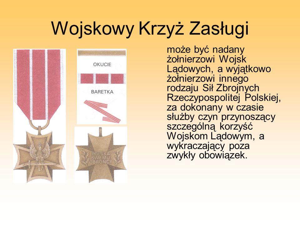 Wojskowy Krzyż Zasługi