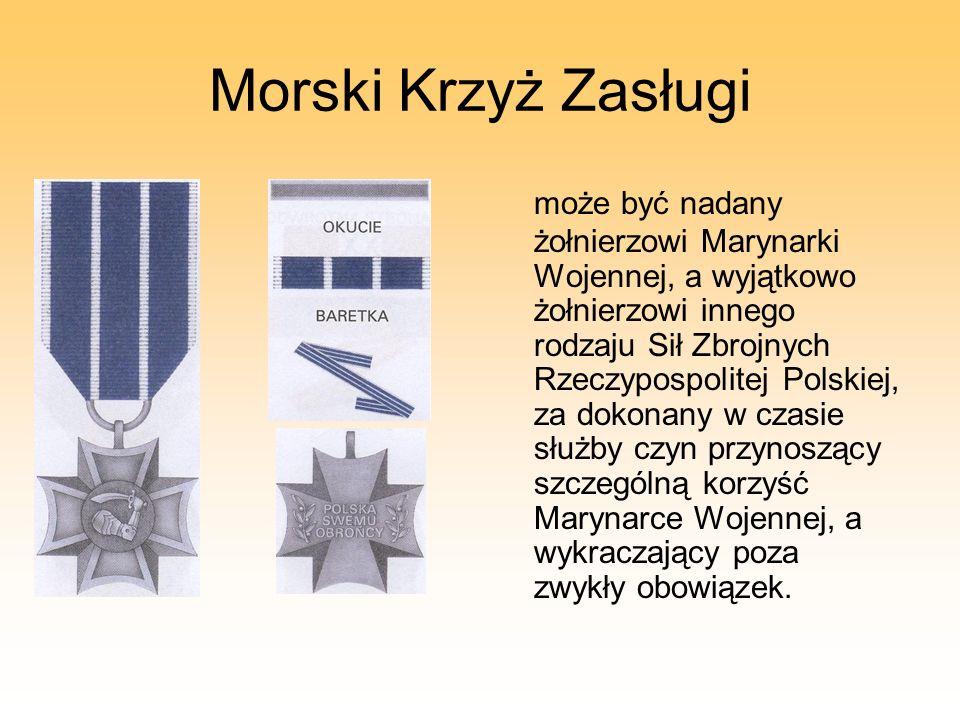 Morski Krzyż Zasługi
