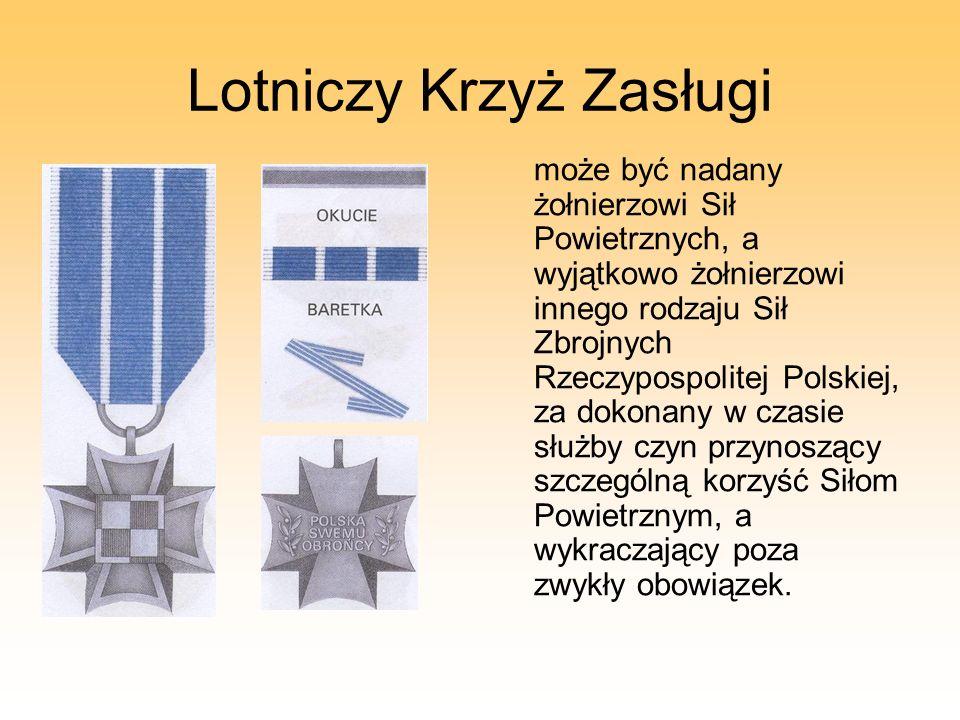 Lotniczy Krzyż Zasługi
