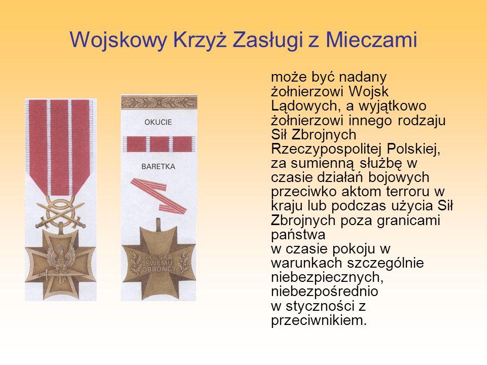 Wojskowy Krzyż Zasługi z Mieczami