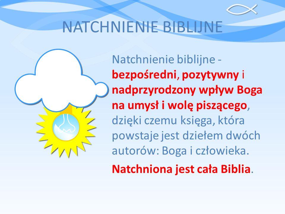 NATCHNIENIE BIBLIJNE