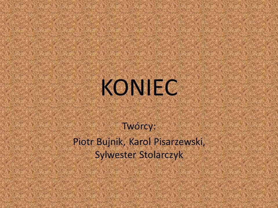 Twórcy: Piotr Bujnik, Karol Pisarzewski, Sylwester Stolarczyk