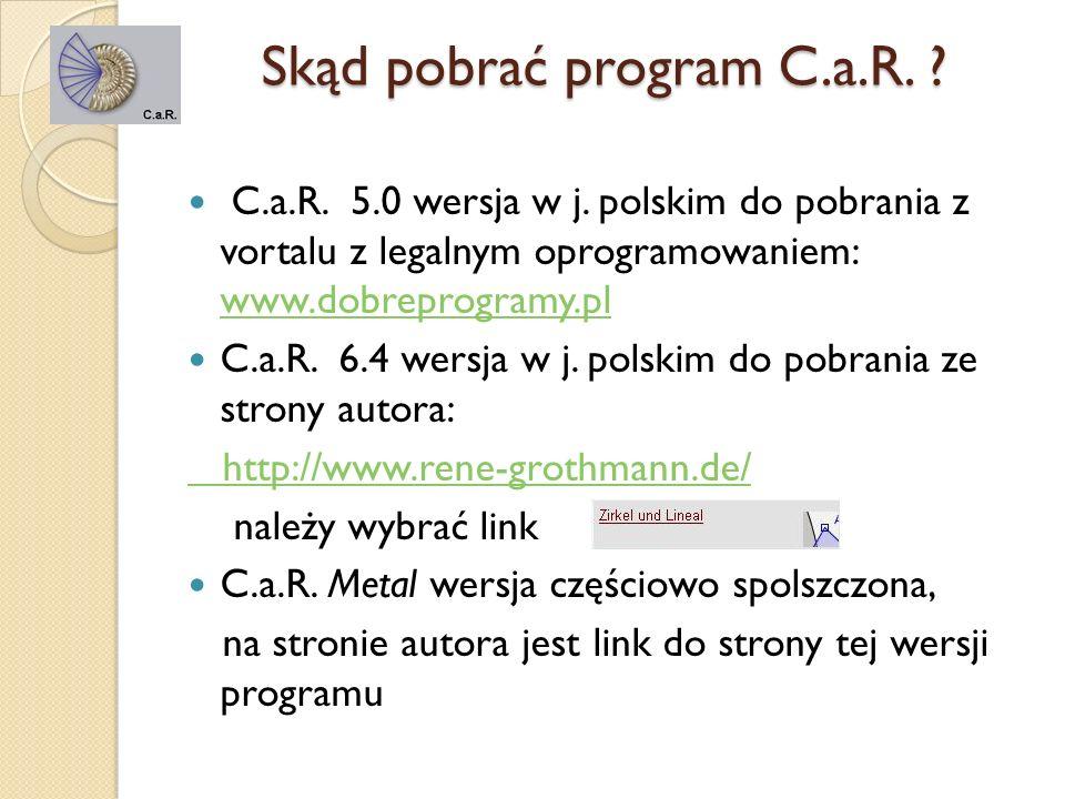 Skąd pobrać program C.a.R.