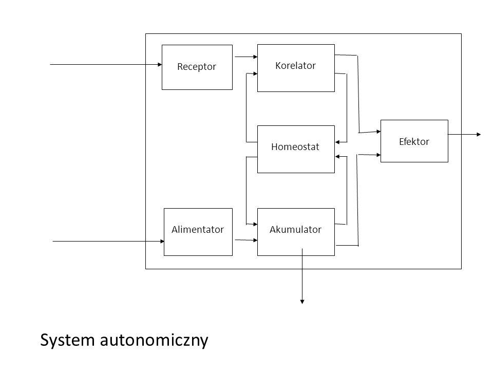 System autonomiczny Autonomous system Receptor Korelator S Efektor