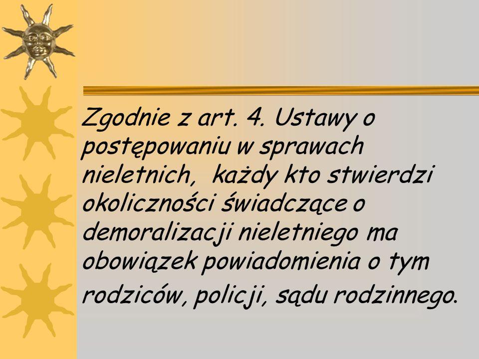 Zgodnie z art. 4.