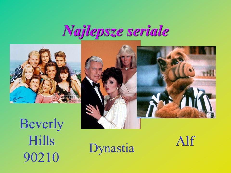 Najlepsze seriale Beverly Hills 90210 Alf Dynastia