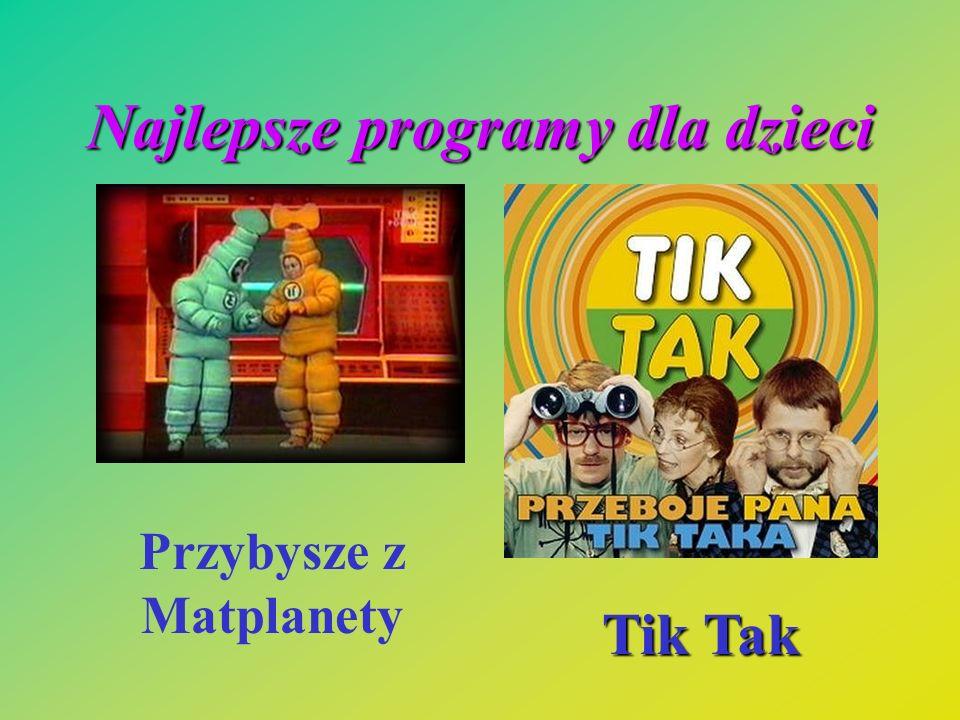 Najlepsze programy dla dzieci