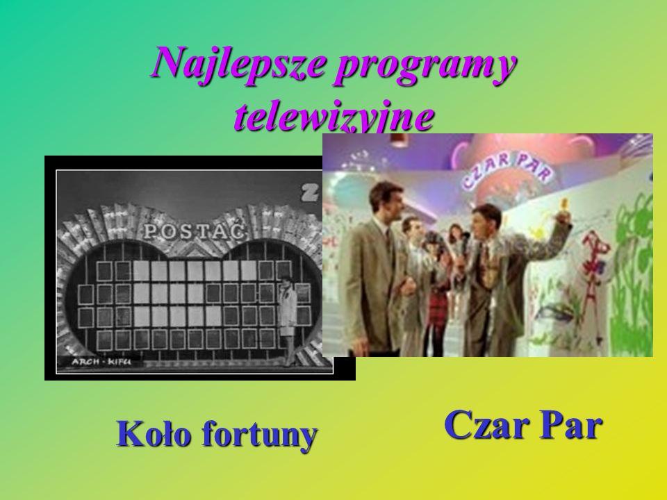 Najlepsze programy telewizyjne