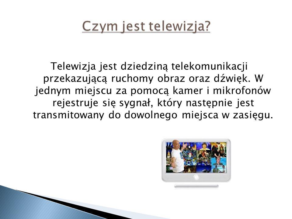 Czym jest telewizja