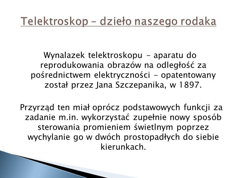 Telektroskop – dzieło naszego rodaka