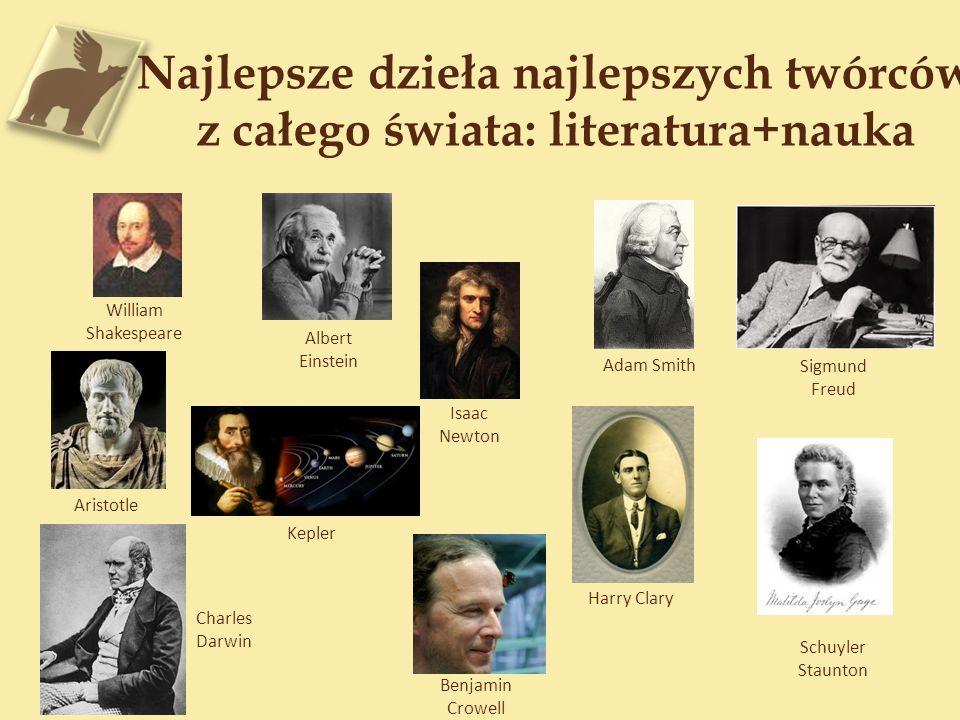 Najlepsze dzieła najlepszych twórców z całego świata: literatura+nauka
