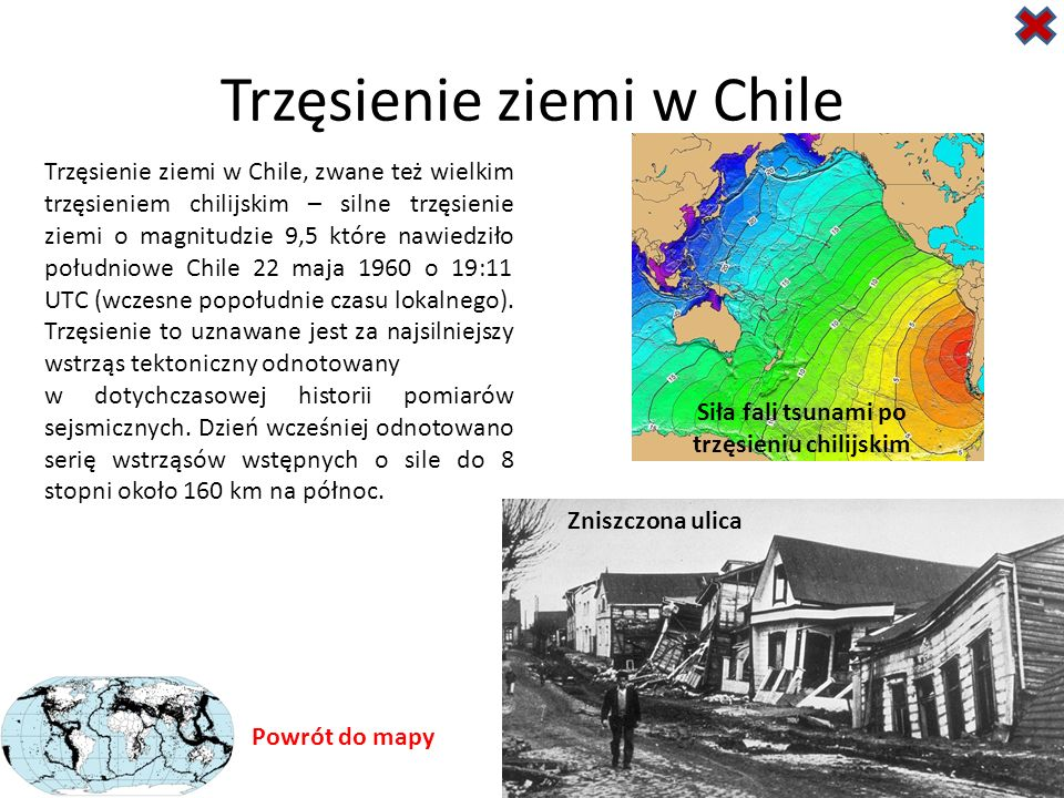 Trzęsienie ziemi w Chile