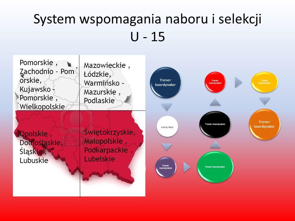 System wspomagania naboru i selekcji U - 15