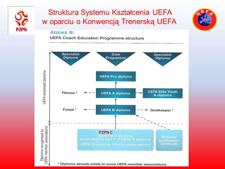 Struktura Systemu Kształcenia UEFA