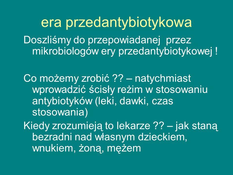era przedantybiotykowa