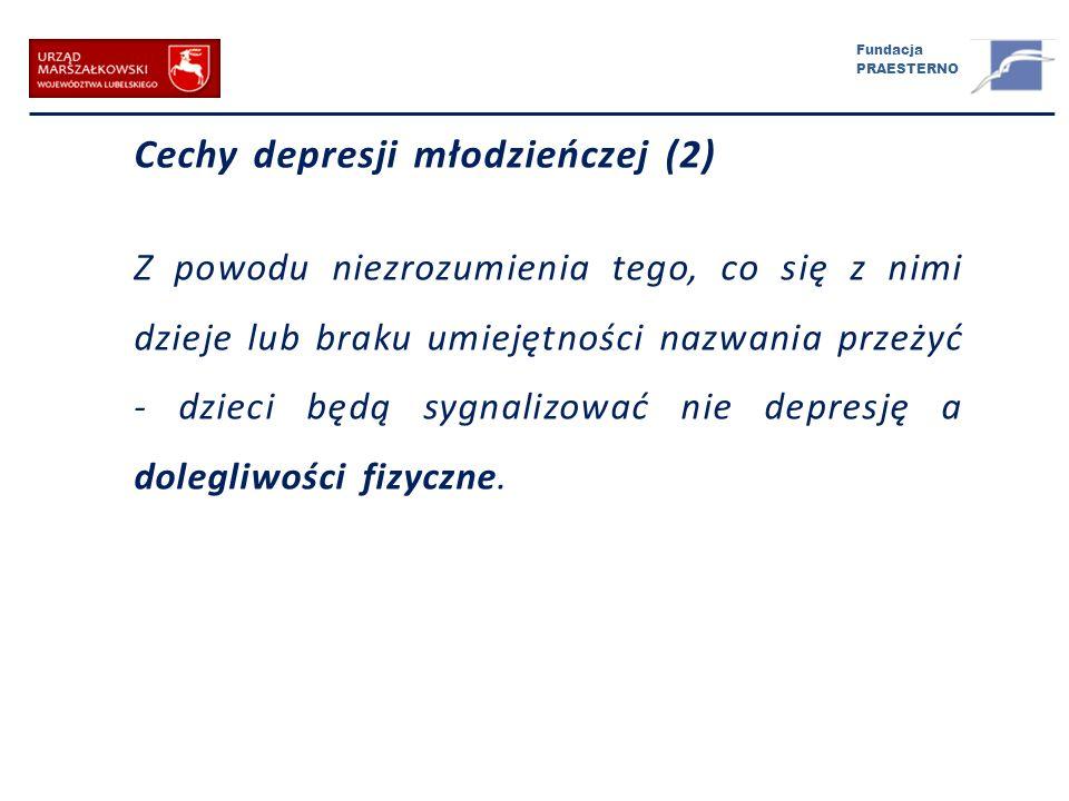 Cechy depresji młodzieńczej (2)