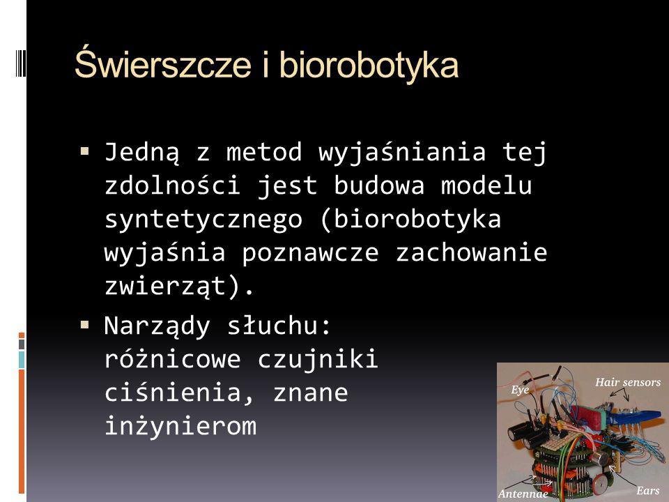 Świerszcze i biorobotyka
