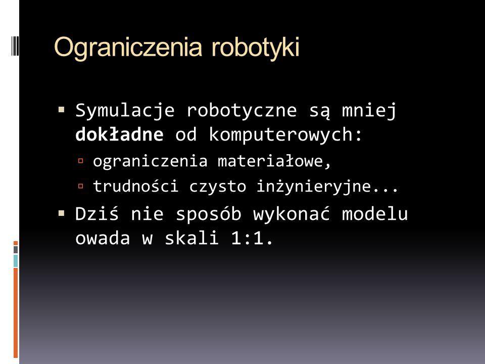 Ograniczenia robotyki