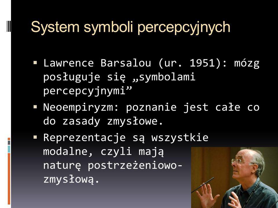 System symboli percepcyjnych
